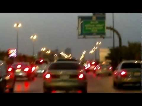 JUNIFER Travel through Riyadh Road, Saudi Arabia