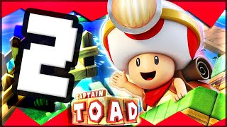 Captain Toad Treasure Tracker - Part 2 Chase to Pyropuff Peak!