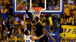 Every NBA Star's Greatest Block!