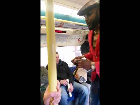 Racist woman on London Underground telling black people 'they used to be slaves'