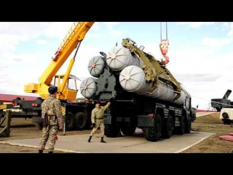 Военнослужащие войск ПВО ВС РК готовятся к конкурсу Ключи от неба-2016