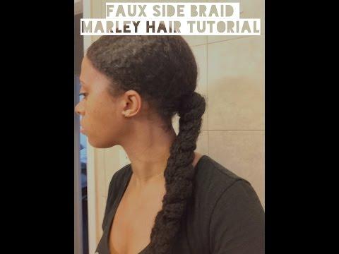 FAUX LONG BRAID MARLEY HAIR TUTORIAL   itsmeladyg