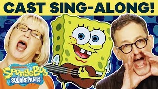 SpongeBob Cast Sings the Theme Song IRL! 🎤 | #TuesdayTunes