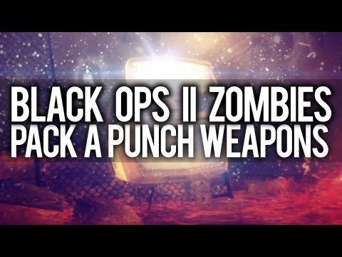 Black Ops 2   Every Pack a Punch Weapon... (Town Survival)