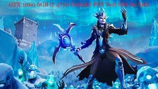 GTX 1060 6GB i7 4770 Fortnite All Settings