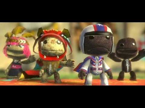 Littlebigplanet-getting The Chinese Dragon Mask With Oonly 2 Controllers! video