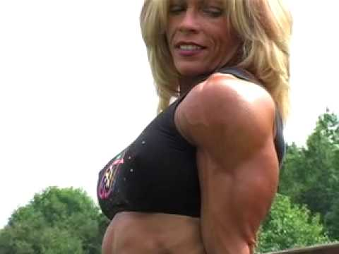Female Bodybuilder photo shoot