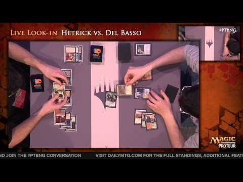 Pro Tour Born of the Gods - Modern Rd. 6 - Hall of Famer Jon Finkel vs. (6) Shahar Shenhar