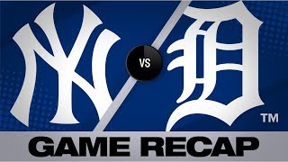 Judge, Urshela power Yankees to 6-4 win | Yankees-Tigers Game 2 Highlights 9/12/19
