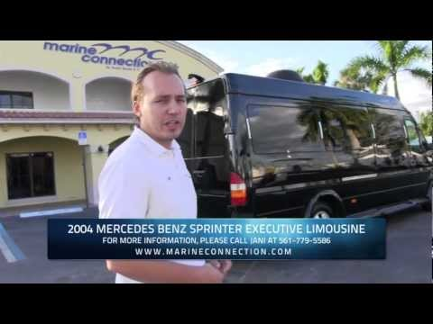 Mercedes-Benz Sprinter Executive Limousine - Travel in Total Comfort & Complete Luxury