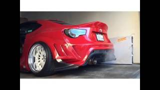 Toyota Gt86 Turbo Exhaust Sound  #Gt86Society