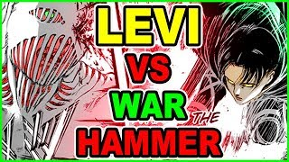 LEVI Vs WarHammer & Beast Titan! All Out War! Attack on Titan Chapter 102 Shingeki no Kyojin ?????