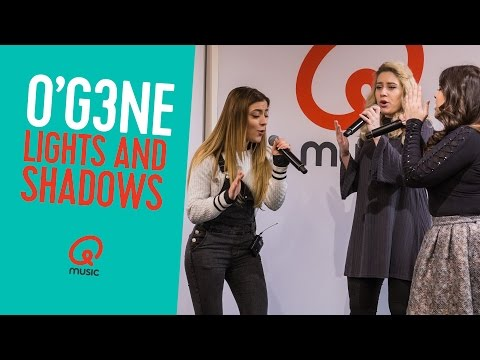 O'G3NE - 'Lights and Shadows' (live bij Qmusic) // Mattie & Wietze