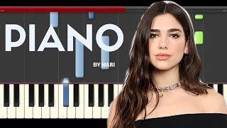 download lagu Dua Lipa New Rules Piano Midi Tutorial Sheet App gratis
