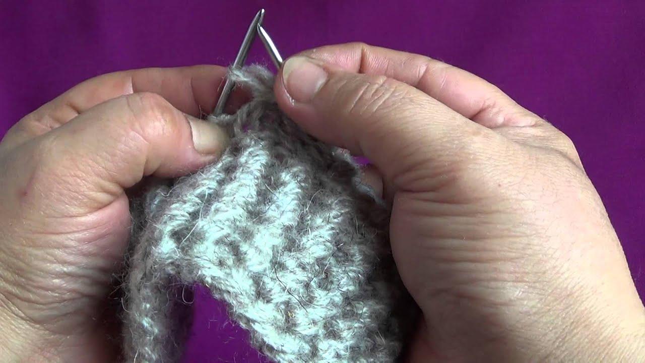Уроки вязания двумя спицами от светланы берсановой