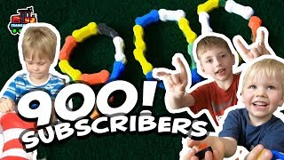 900 SUBSCRIBERS! Thank you so much everyone for supporting Train Lab! | Trains toys videos for kids