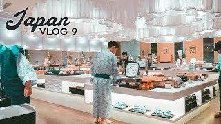 $1,000 HOTEL IN JAPAN & BUFFET DINNER - Japan Travel Vlog 2018