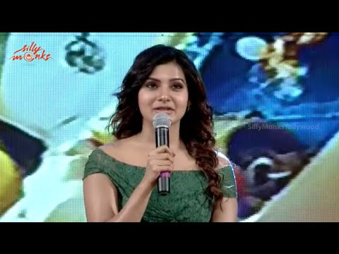 Samantha Cute Speech @ Sikandar Movie Audio Launch - Sikander