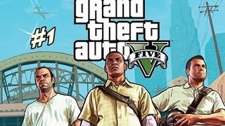Grand Theft Auto 5 GTA V Gameplay Part 1 Let's Play