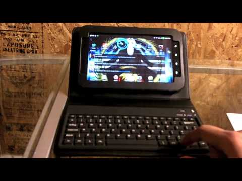 Samsung Galaxy Tab Bluetooth Keyboard Case Review