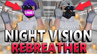 GTA 5 Online - Night Vision Rebreather Helmet Glitch! Cool Modded Clothing! (GTA 5 Glitches)