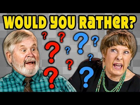 Would You Rather Elders React Gaming