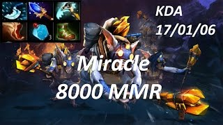 8000MMR Miracle Play Meepo Mid KDA 17/1/6 - Ranked Match Dota 2 !
