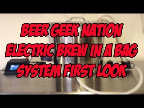 Electric Brew In a Bag All-In-One System First Look   Beer Geek Nation Craft Beer Reviews