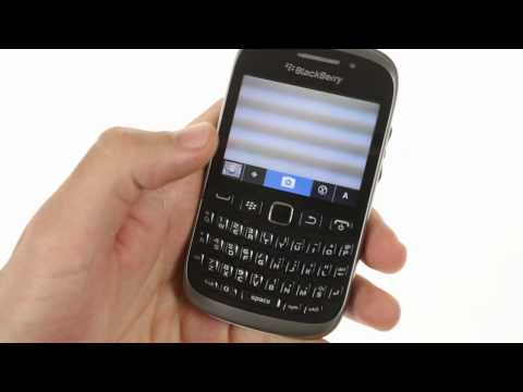 BlackBerry Curve 9320 user interface demo