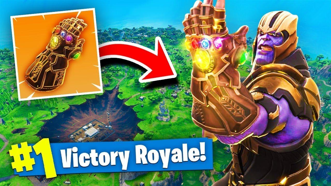 Thanos Infinity Gauntlet Mode Fortnite Battle Royale
