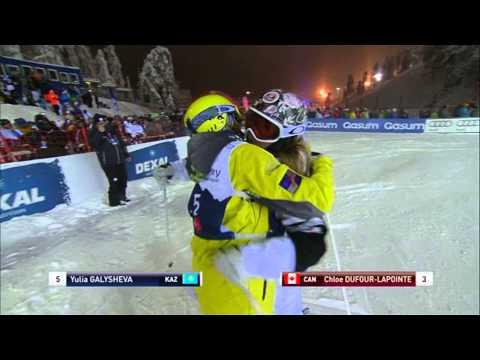 Hannah Kearney - 3rd Place - RUKA Freestyle Ski Dual Moguls