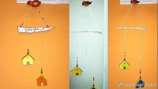 Diy wall hanging with cardboard for kids#hridis lifestyle