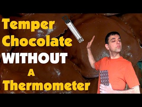 Chocolate Tempering Thermometer Temper Chocolate Without a