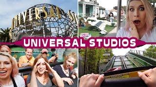 Mokrzy Youtuberzy 😂 Kulisy Hollywood - Universal Studios Vlog Agnieszka Grzelak Vlog
