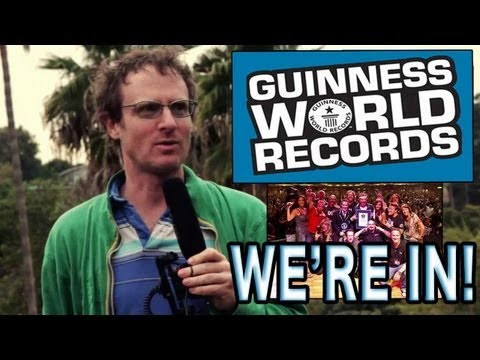 Ari Gold makes Guinness World Record Book for AIR DRUMMING