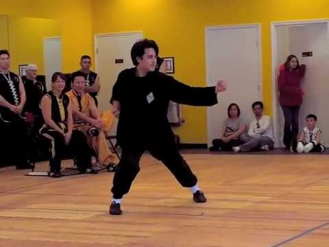 Hung Gar Kung Fu - Tiger Crane Form - Sifu Kurtis Fujita Image 1