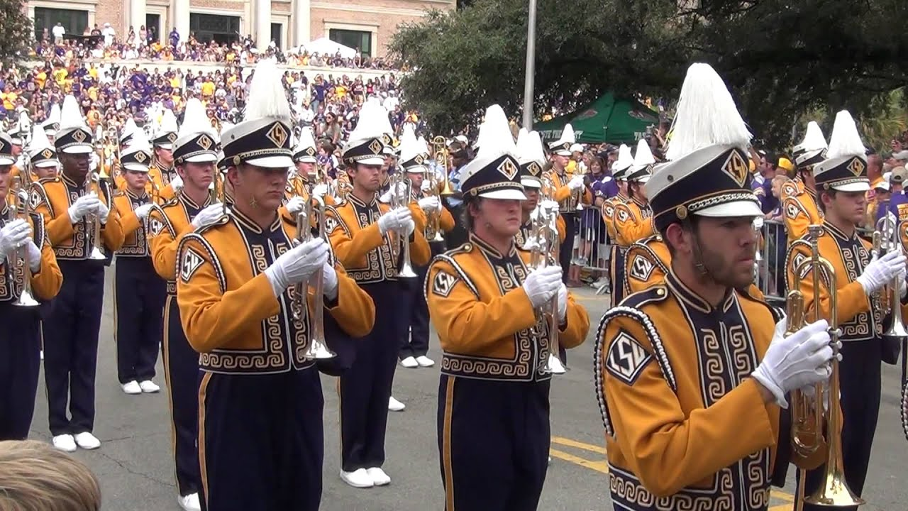 Lsu Tiger Band Victory Hill
