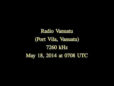 Radio Vanuatu (Port Vila, Vanuatu) - 7260 kHz