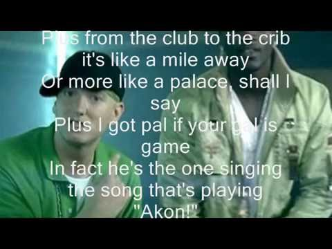 Akon ft Eminem - Smack That Original Karaoke