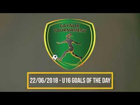 2018 Gaynor Tournament U16 Goals - Day 2