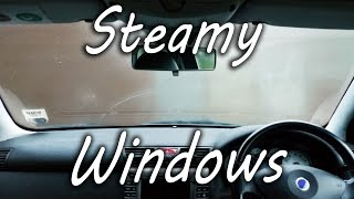 Simple and Clever trick to deal with foggy car windows during winter