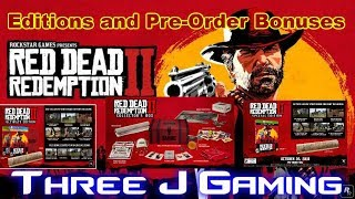 Red Dead Redemption 2: All editions and Pre-Order bonuses