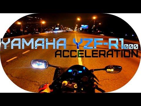 Yamaha YZF-R1 Acceleration