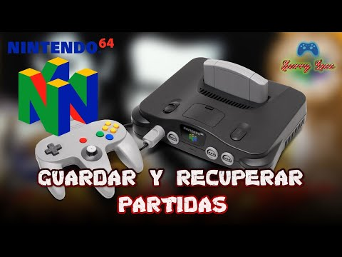 Como guardar y recuperar partida Smash Bross N64 portable.