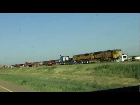 Fatal UP Head-on Collision at Goodwell, Oklahoma