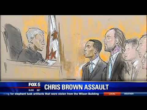 Chaos Among Fans & Security As Chris Brown Rejects Washington D C  Plea Deal In Assault Case