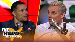 Tony Gonzalez on the excitement he felt watching his Chiefs make the Super Bowl | NFL | THE HERD