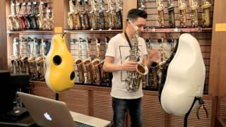 KURVE ONE Saxophone Mute Demo