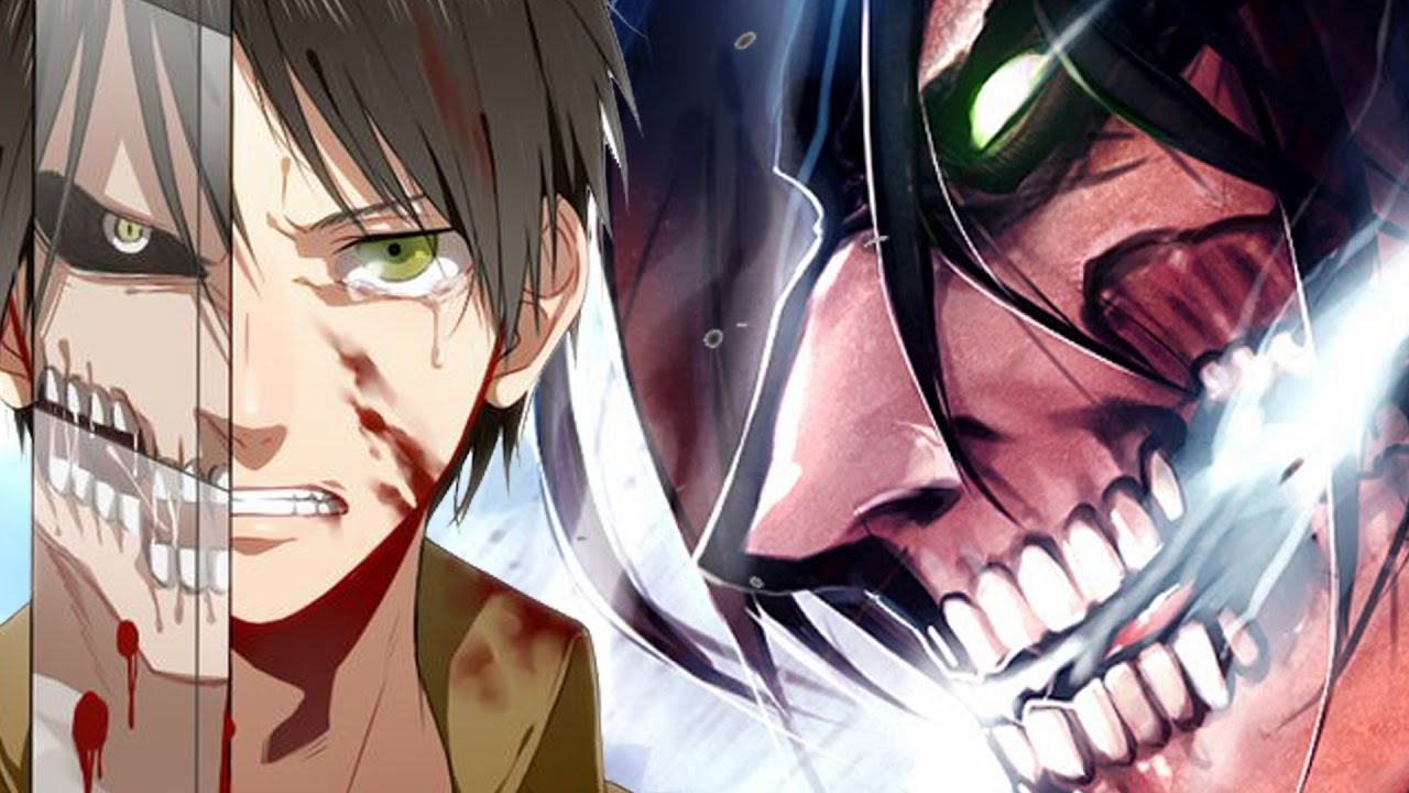 Attack on titan eren titan form anime