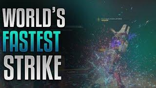 Destiny 2 - Worlds Fastest Nightfall Strike [5:40] [Inverted Spire]